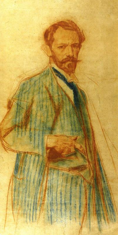 Александр Александрович Мурашко. Автопортрет