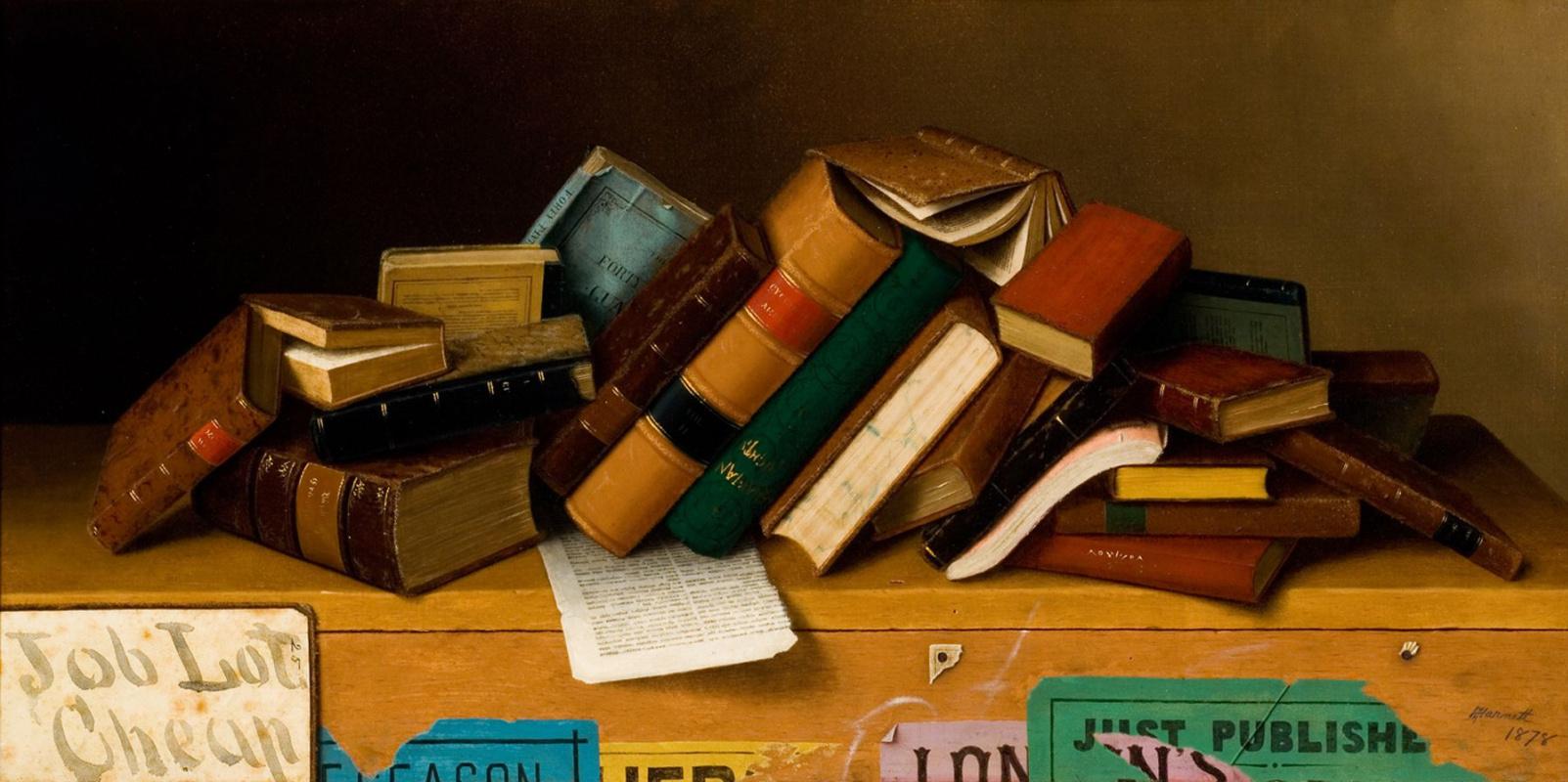 Уильям Майкл Харнетт. Книги