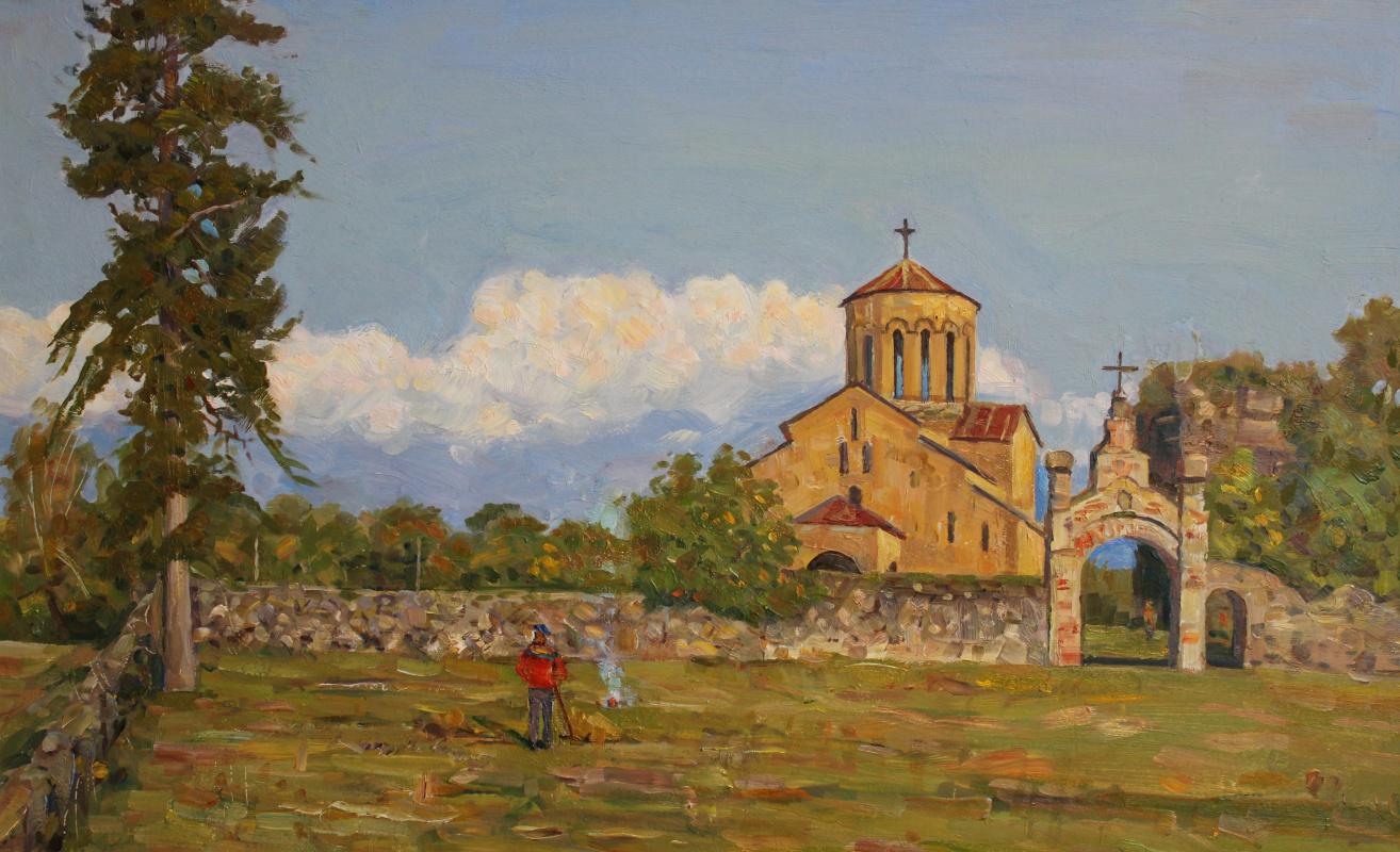 Eugene Alexandrovich Kazantsev. Temple. On the ancient land of Abkhazia.