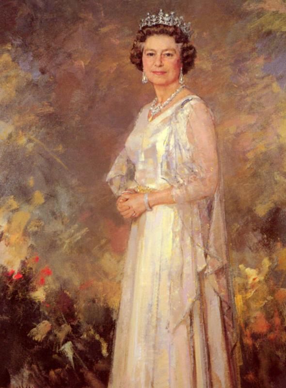 Рикардо Макаррон. Ее величество королева Елизавета Вторая