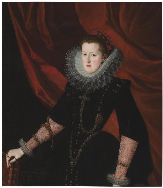 Хуан Пантоха де ла Крус. Маргарита Австрийская, королева Испании