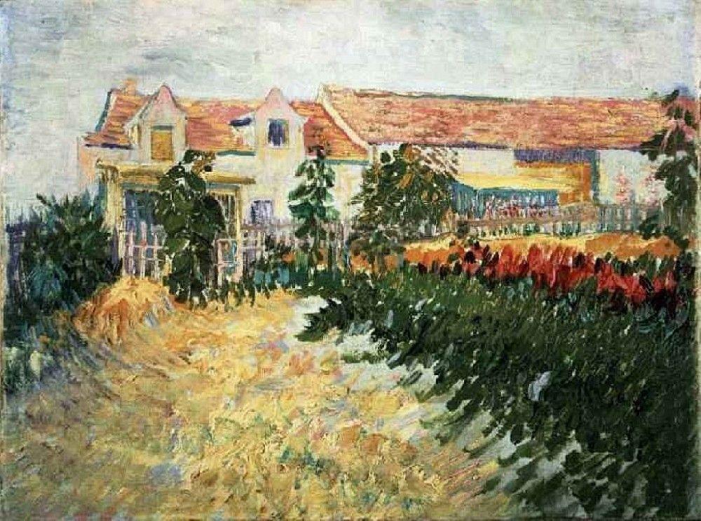 Винсент Ван Гог. Дом с подсолнухами