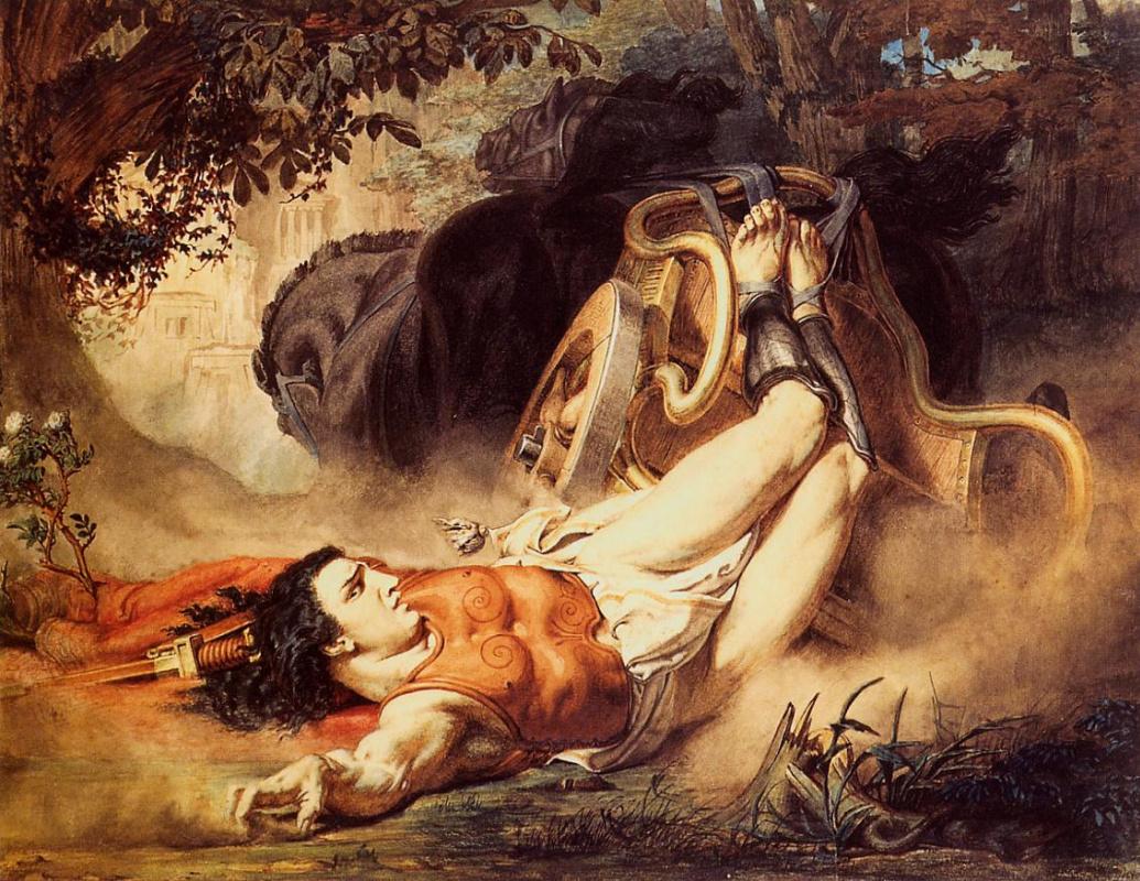 Лоуренс Альма-Тадема. Смерть Ипполита