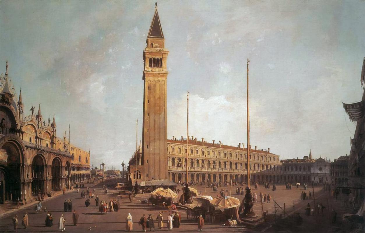 Giovanni Antonio Canal (Canaletto). St. Mark's Square