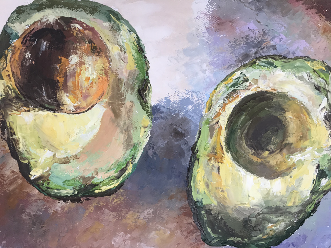 Анастасия Ораина. Avocado