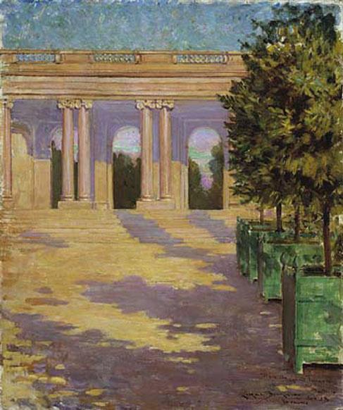 Джеймс Кэрролл Беквит. Аркада Великого Трианона, Версаль
