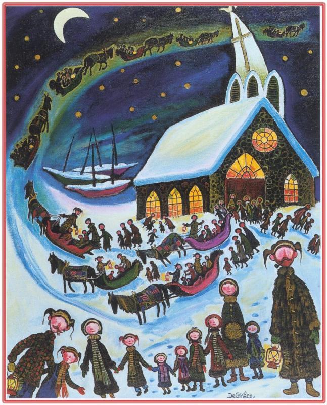 Нер Де Грос. Зима