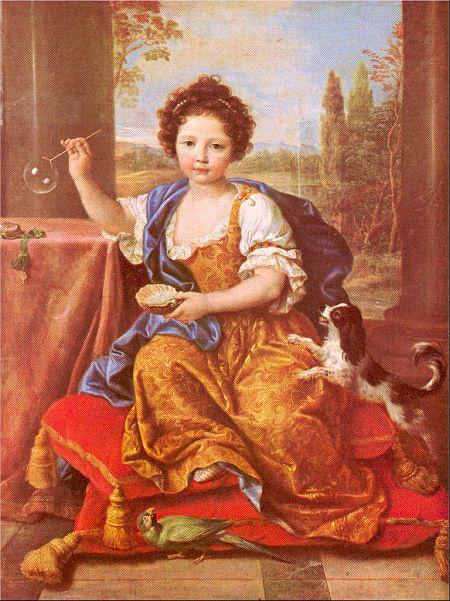 Миньяр. Ребенок с собакой