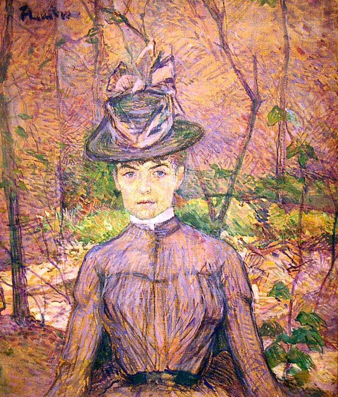 Анри де Тулуз-Лотрек. Портрет Сюзанны Валадон