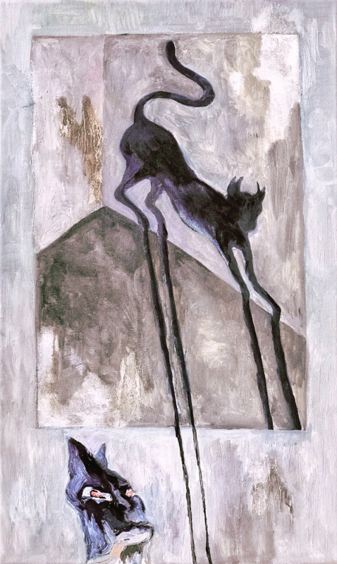 Untitled (Cat's Shadow)
