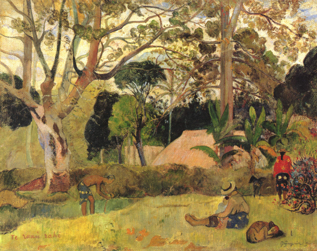 Paul Gauguin. Big tree