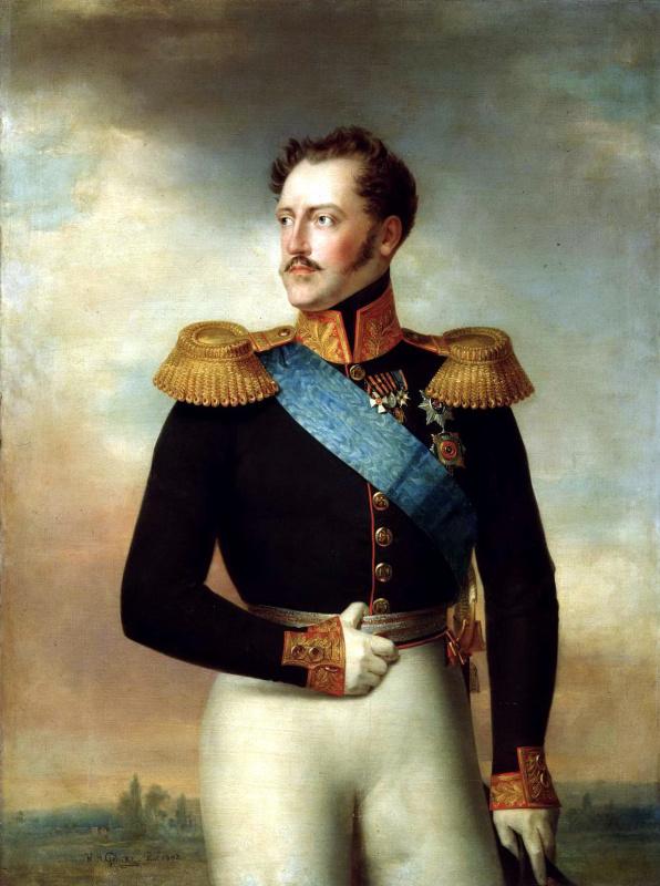 Василий Голике. Николай I