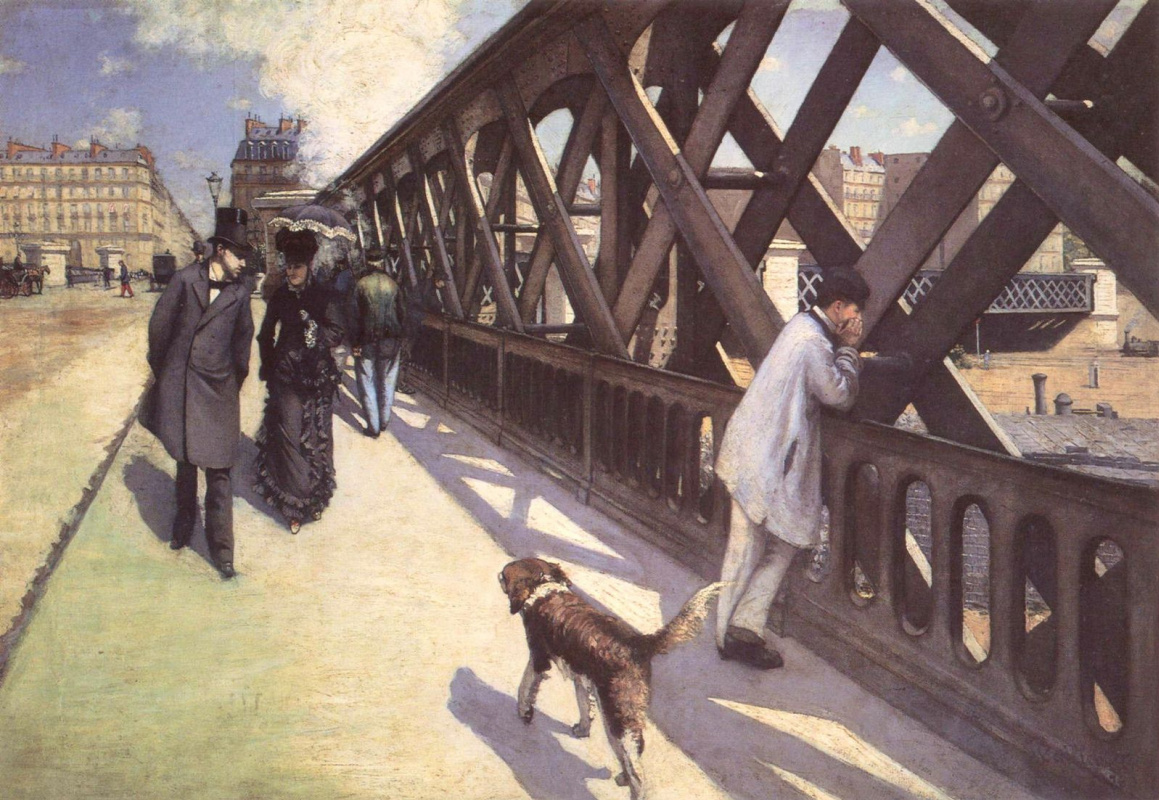 Gustave Caillebotte. Bridge Of Europe