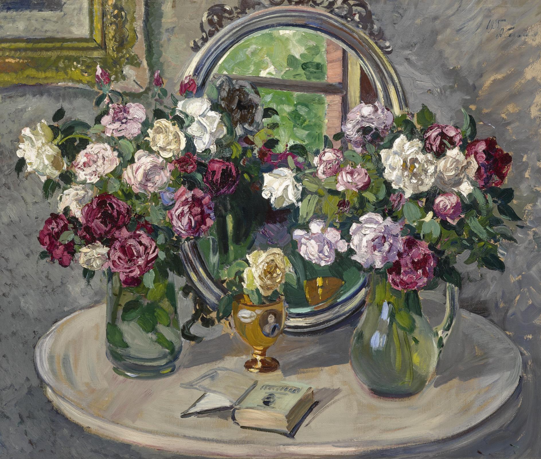 Александр Михайлович Герасимов. Цветочный натюрморт