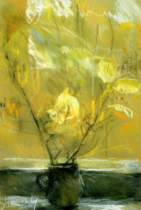 Tetyana Yablonska. Autumn leaves