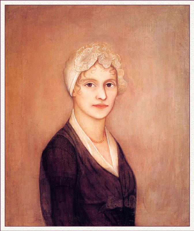 Амми Филлипс. Портрет молодой женщины