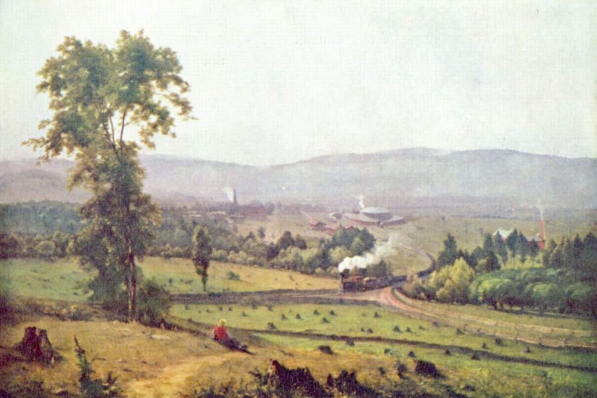George Inness. Valley Lackawanna