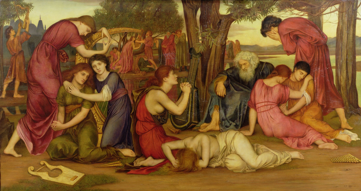 Evelyn De Morgan (Pickering). By the waters of Babylon