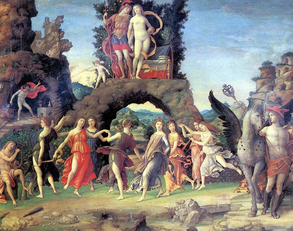 Andrea Mantegna. Mars and Venus