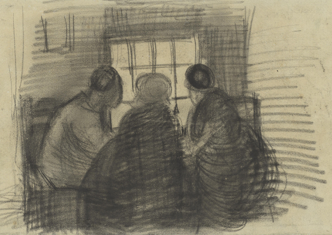 Vincent van Gogh. Three for the meal
