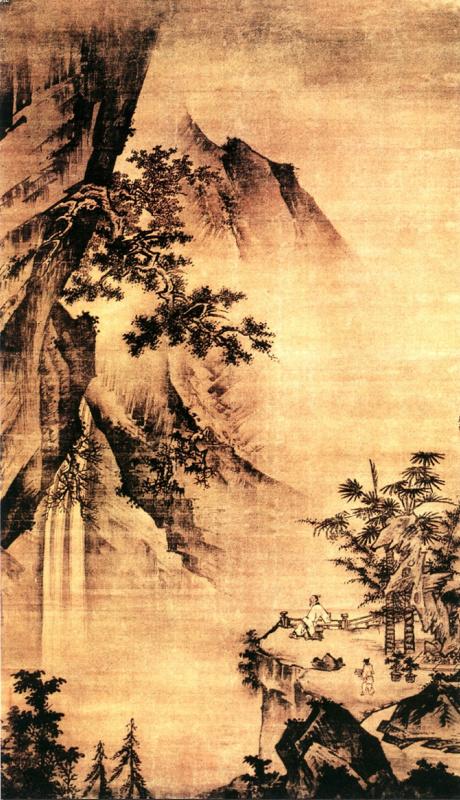 Чжун Цинь Ли. Пейзаж 063
