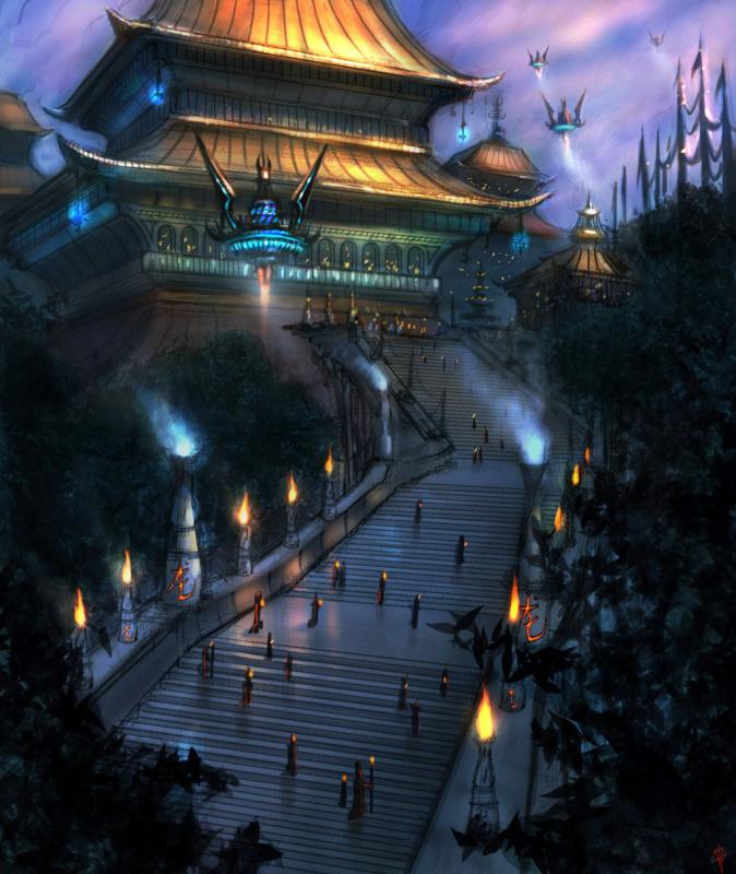Алекс Руис. Пагода