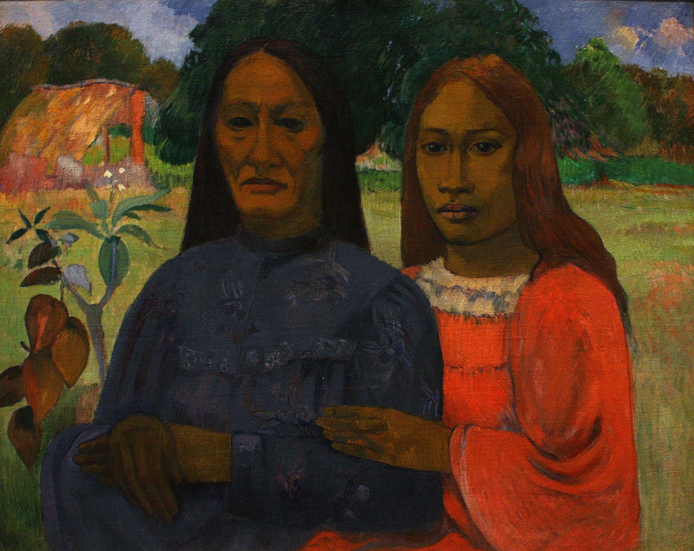 Поль Гоген. Мать и дочь