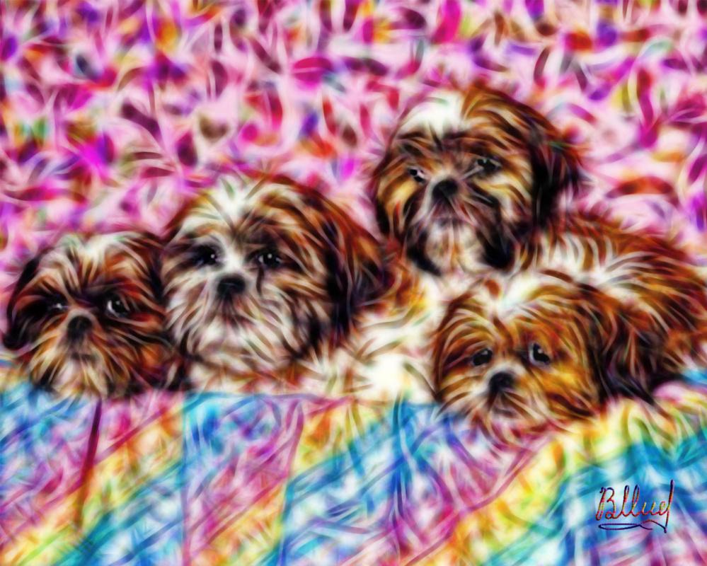 Vasiliy Mishchenko. Dogs