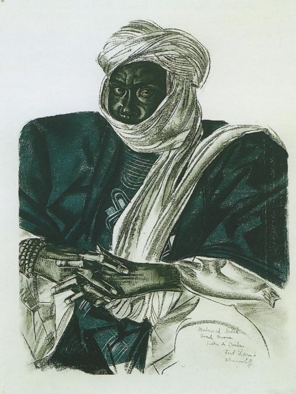 Alexander Yakovlev. African Sultan