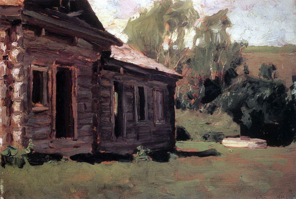 Аполлинарий Михайлович Васнецов. Старый дом