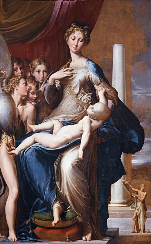 Франческо Пармиджанино. Мадонна с длинной шеей