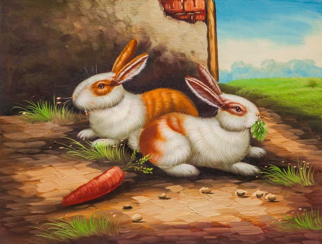 Maria Potapova. Кролики