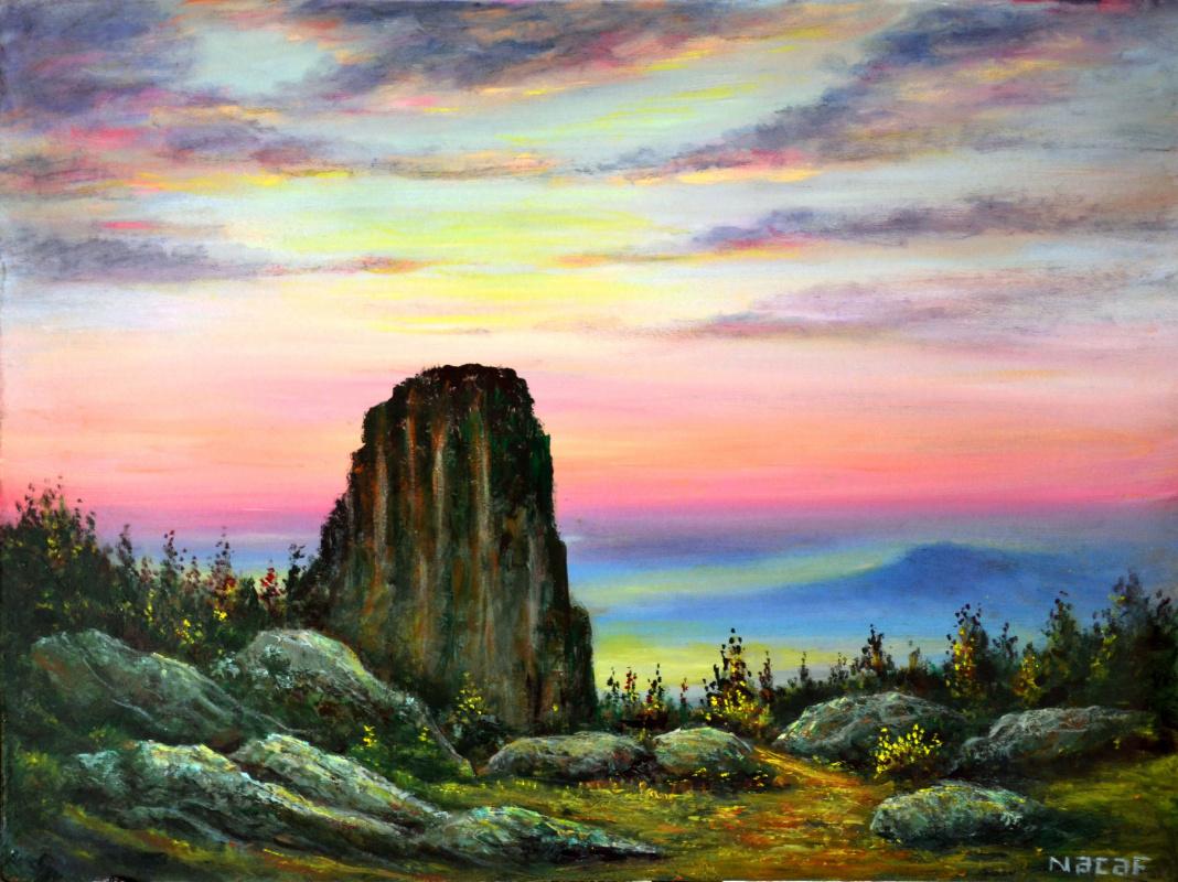 Najaf Mamedali oglu Mamedov. Dawn