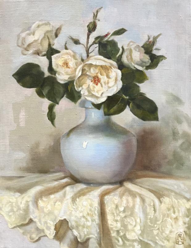 Марина Лев. Белые розы