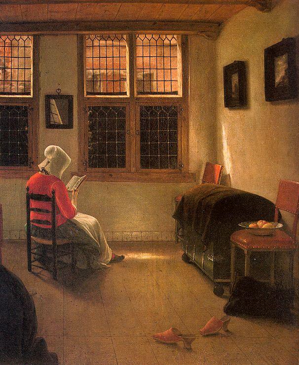 Женщина за чтением