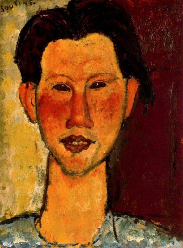 Амедео Модильяни. Портрет Хаима Сутина