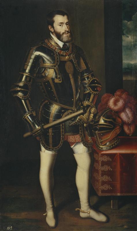 Хуан Пантоха де ла Крус. Император Карл V