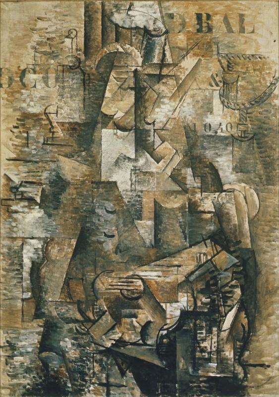 Georges Braque. The Portuguese