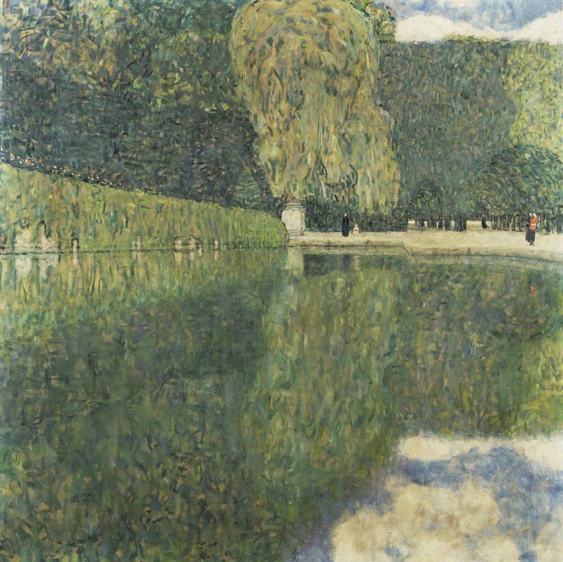 Густав Климт. Парк во дворце Шёнбрунн