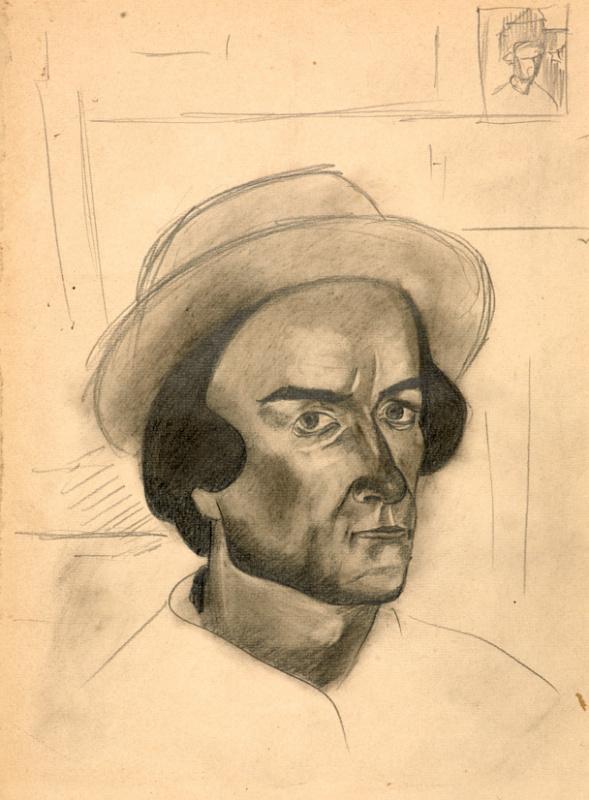 Семен Андреевич Павлов. Автопортрет.