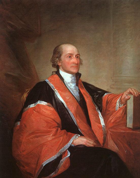 Гилберт Чарльз Стюарт. Председатель Верховного суда Джон Джей