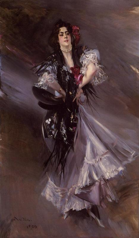 Джованни Больдини. Портрет Аниты-де-ла-Фериа - испанская танцовщица
