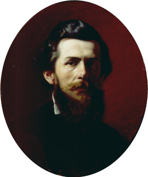 Fedor Andreevich Bronnikov. Portrait Bogolyubov
