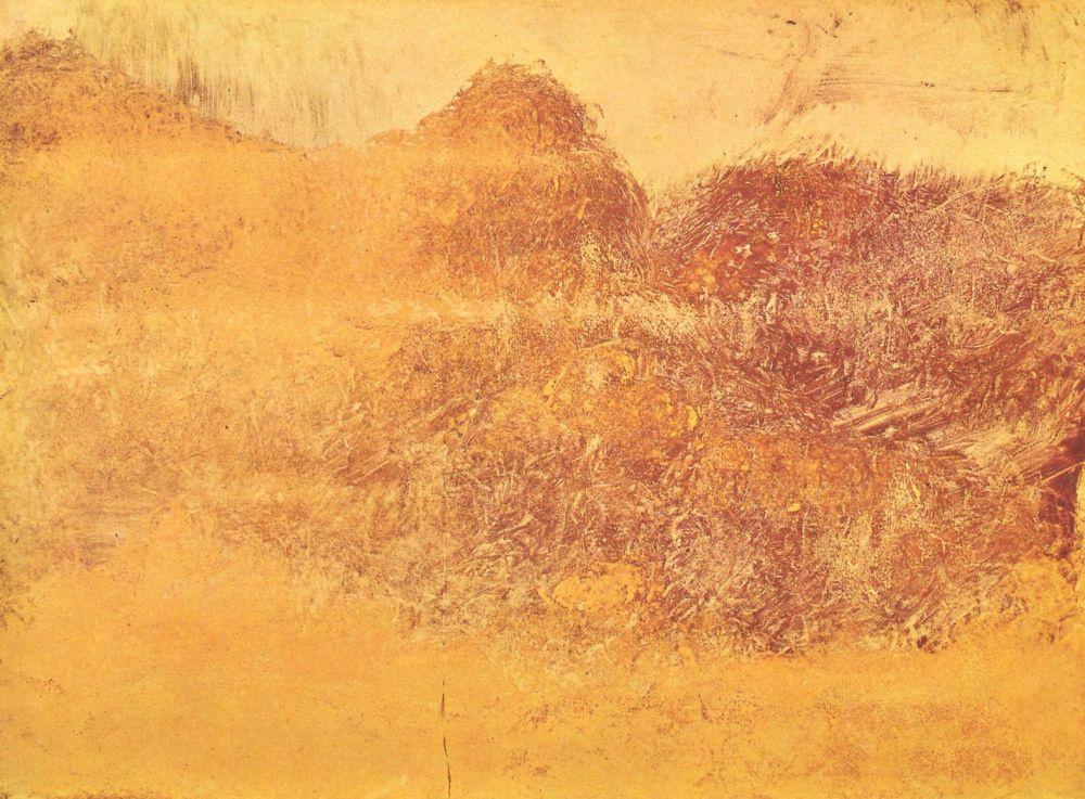 Эдгар Дега. Осень в горах