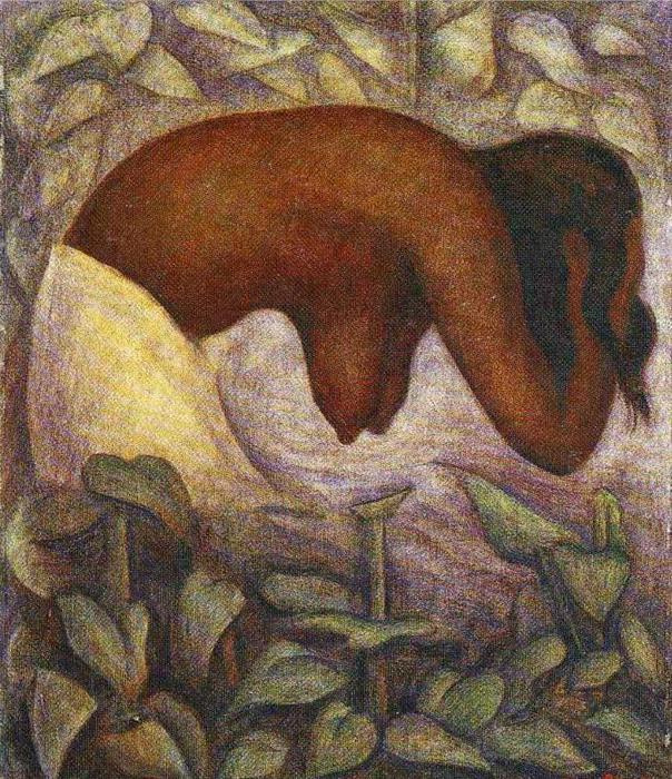 Diego Maria Rivera. Bather from Tehuantepec