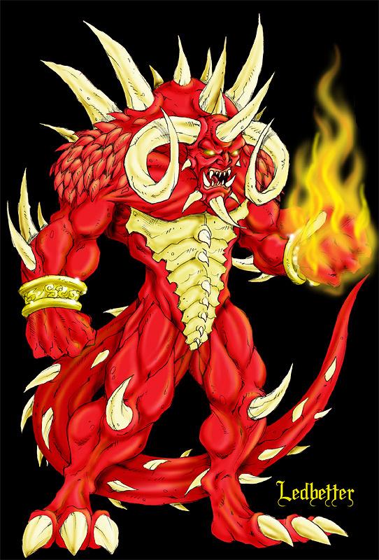 Дьявольское пламя