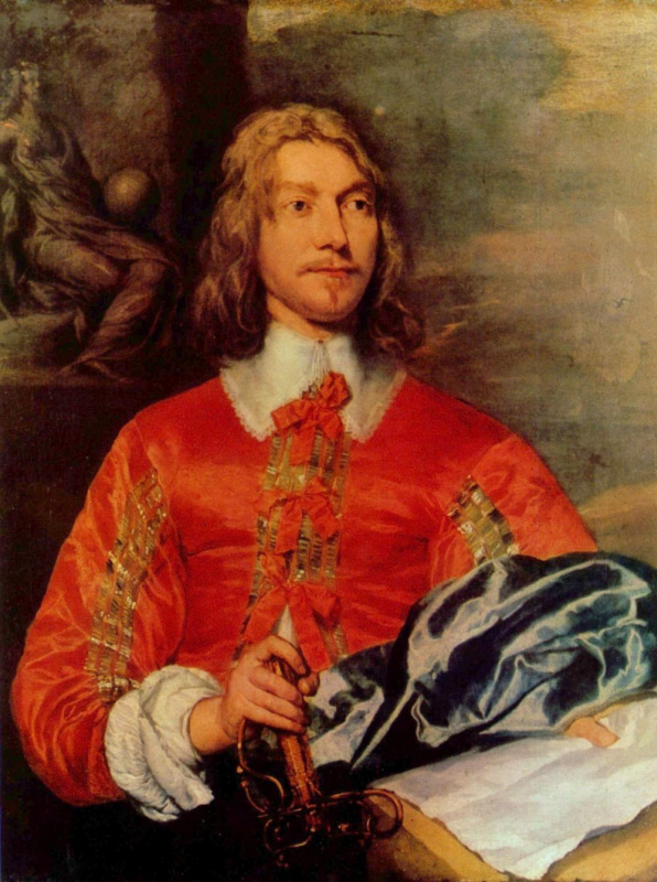 William Dobson. Portrait of a naval officer