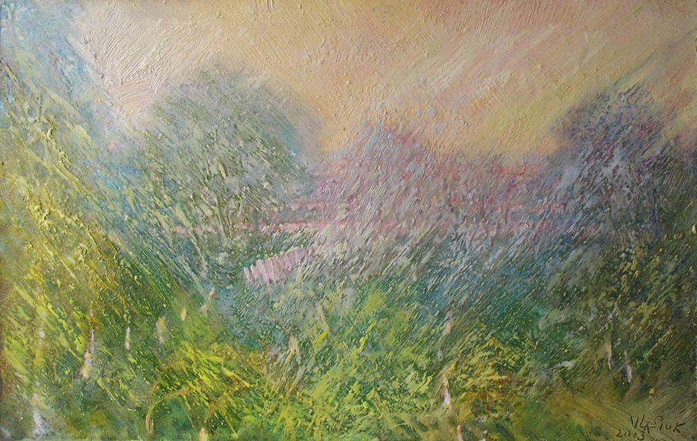 Alexander Ivanovich Vlasyuk. 377-Spring garden-1