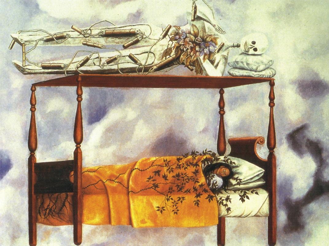 Frida Kahlo. Sleep (Bed)