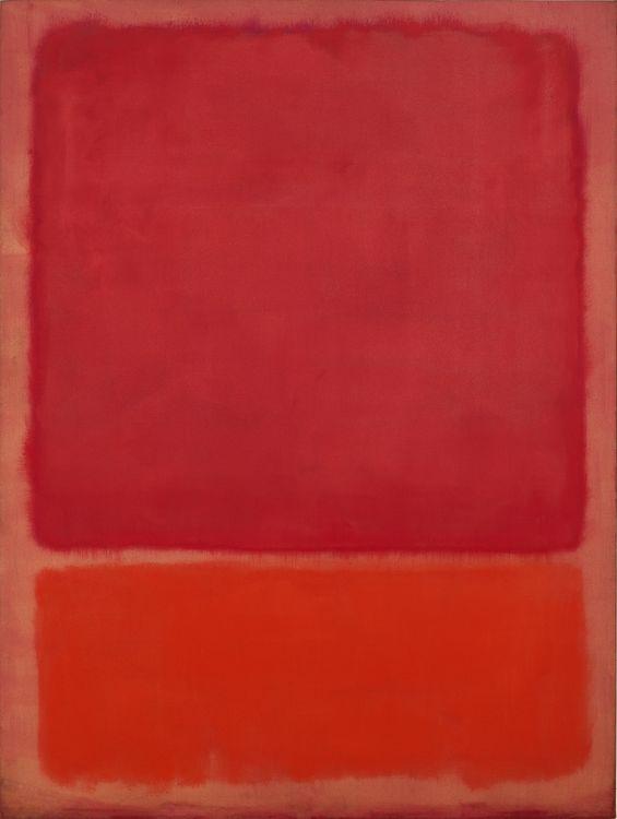 Марк Ротко. Без названия (Красный, оранжевый)